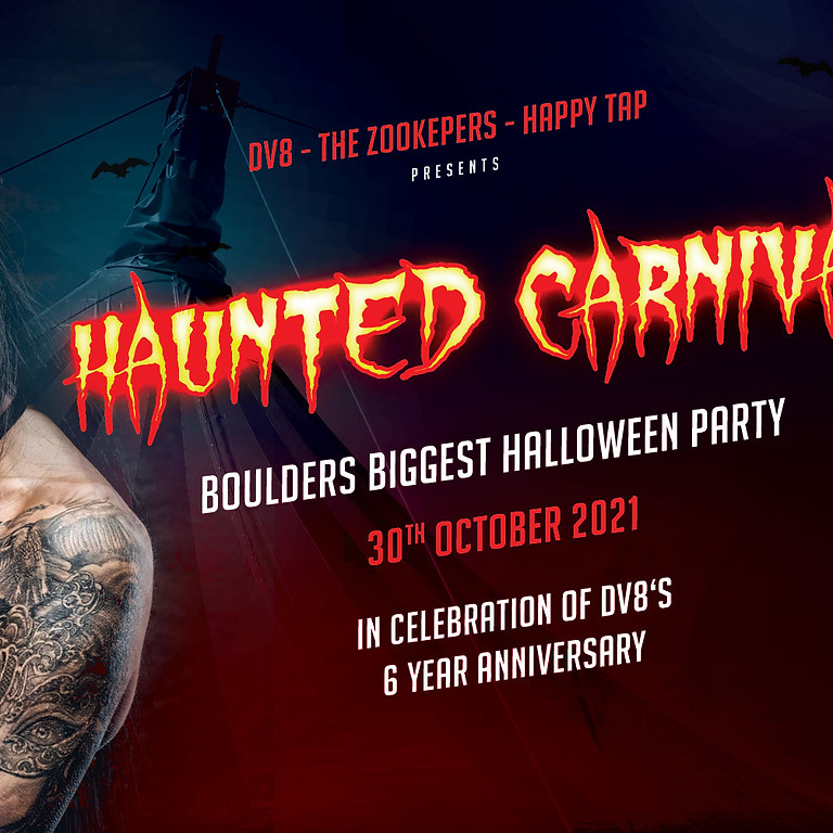 Dv8 Presents: The Haunted Carnival (Dv8s 6 Year Anniversary Party)