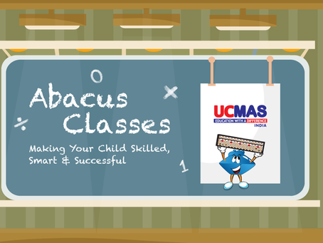 What role do abacus classes play in a child's development?