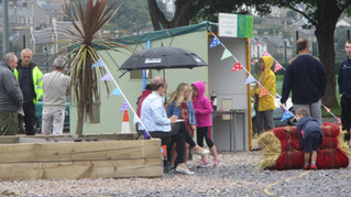 Open day picnic at Campbeltown Gateway