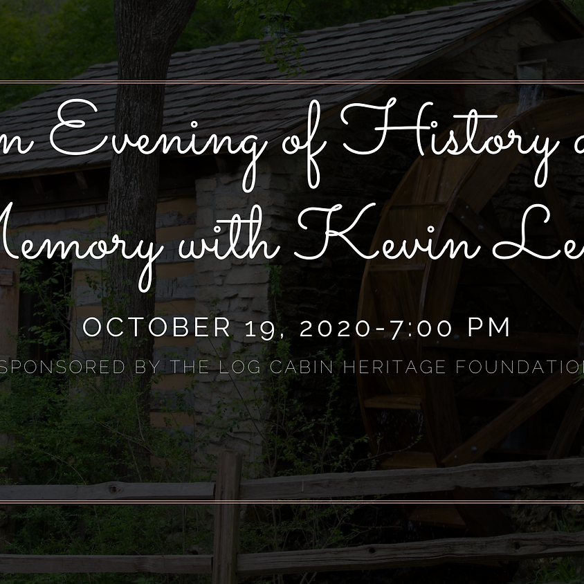 An Evening of History and Memory with Kevin Levin