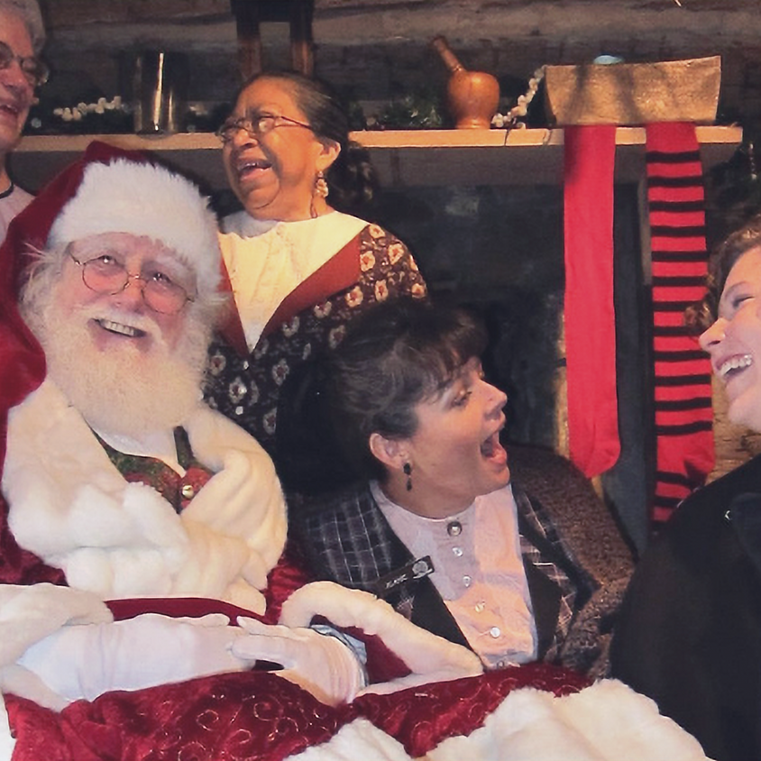 Holidays at the Hearth & Photos with Santa