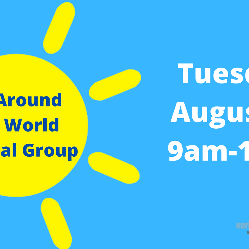 Around the World Virtual Group-Presented by MHMR Tarrant County