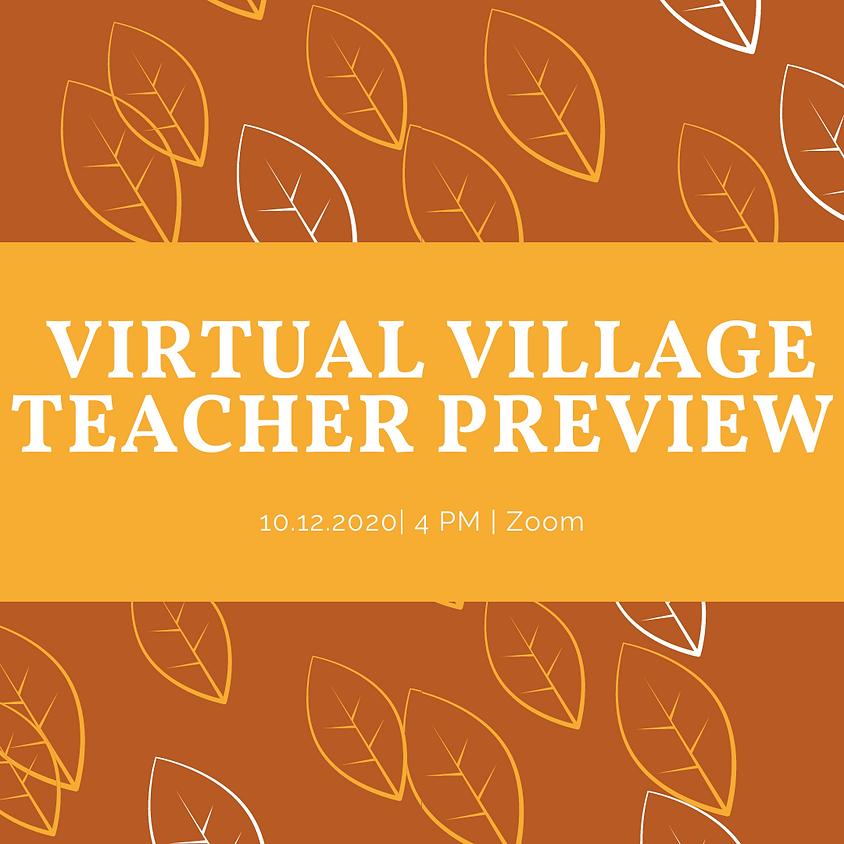 Virtual Village Teacher Preview