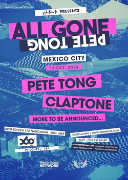 Flyer All Gone Mexico