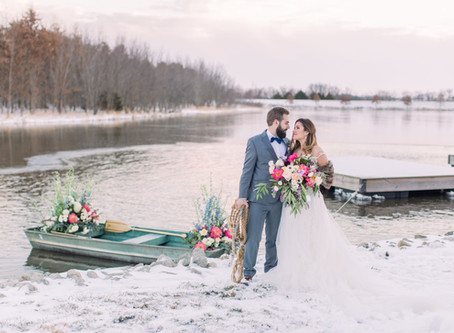 AWESOME ADVANTAGES TO HAVING A WINTER WEDDING
