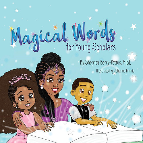 Magical Words for Young Scholars 11 x 8.5