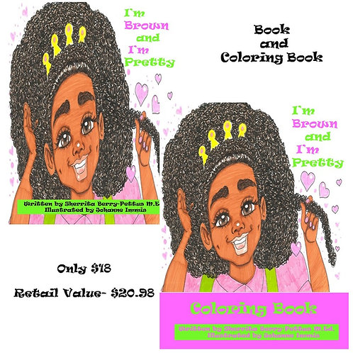 I'm Brown and I'm Pretty Coloring Combo Pack