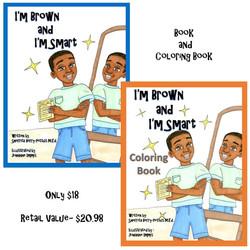 BrownandSmartColoringbookcombopack