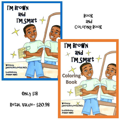 I'm Brown and I'm Smart Coloring Combo