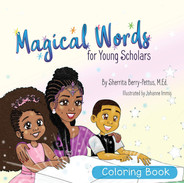 Magical Words for Young Scholars- Coloring Book