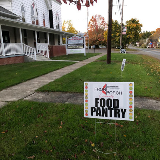 Community Front Porch Food Pantry