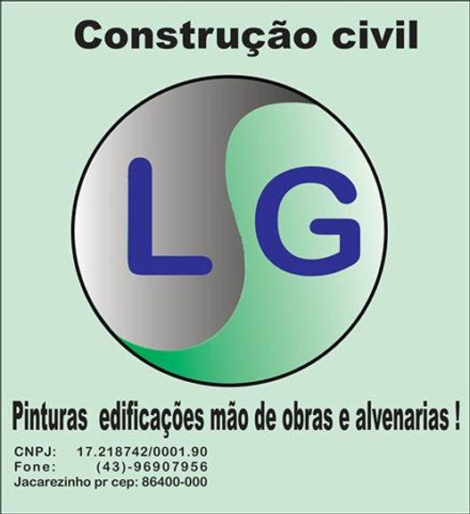 Lg contrução civil sua obra do inicio ao fim orçamentos sem compromiço pelo fone (43)-96907656 ou (43)-91551155  mais um empreendimento em jacarezinho- Pr