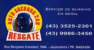 Serviço de guincho em geral contato (43) 3525-2301 ou (43) 9986-3450  Atendendo jacarezinho e região