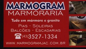 Marmogram marmoaria tudo em mármore e granito,pias,soleiras,balcões e escadarias