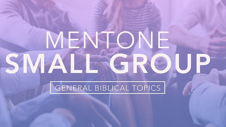 Mentone Small Group - General Topics