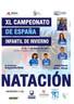 5 nadador@s acudirán al XL Campeonato de España Infantil de Invierno