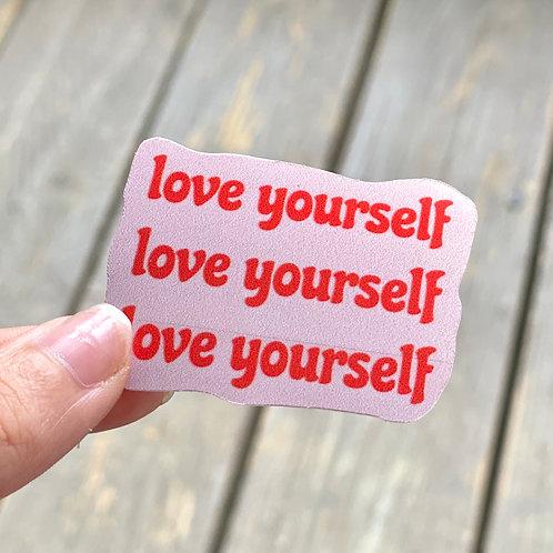 """Love Yourself"" Sticker"