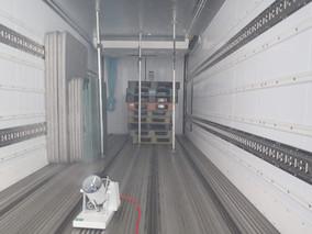 カトーロジック 食品を運搬する荷台まで光触媒で感染症対策!