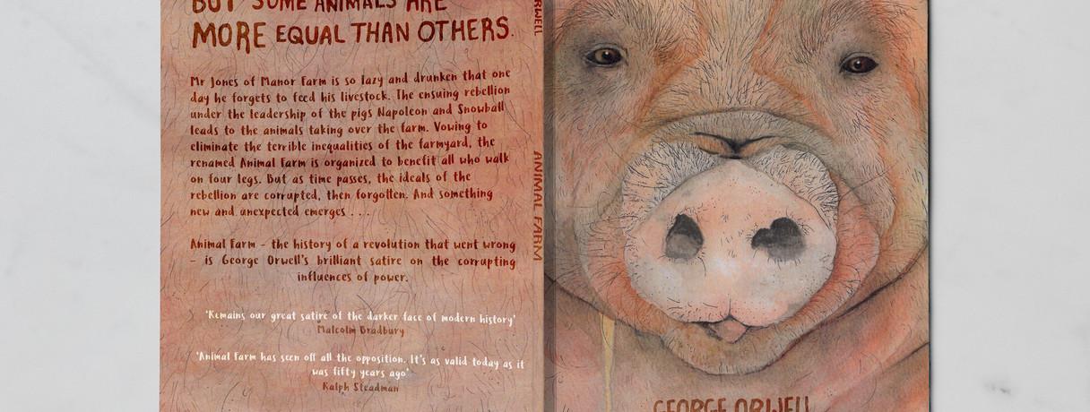 Animal Farm - Penguin book cover design