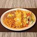 11. Burrito Verde, Enchilada & Taco