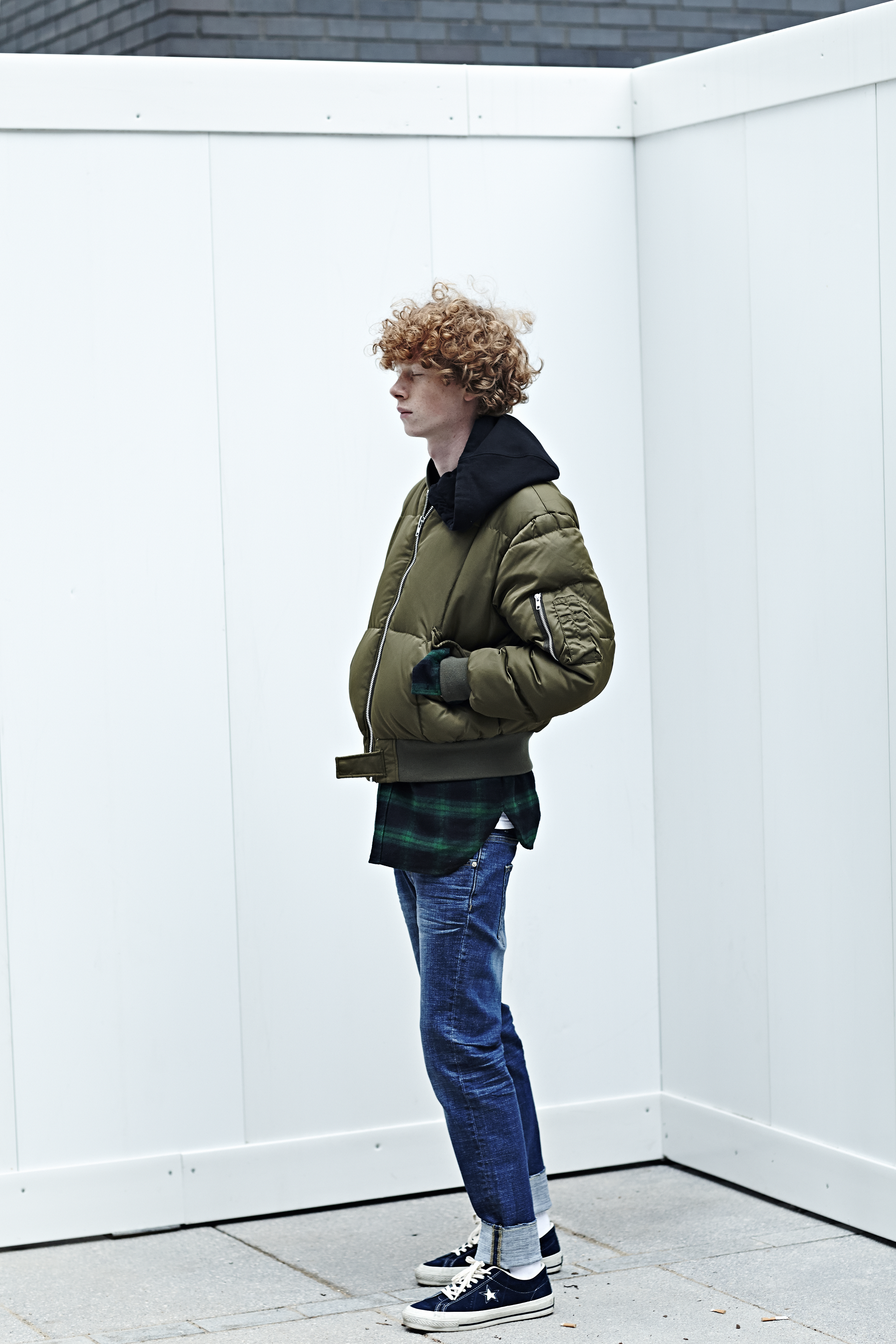 BEN REES for Upscale Lookbook W15