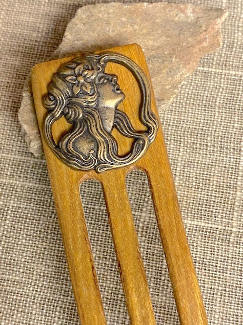 Curve Prongs Hair Fork