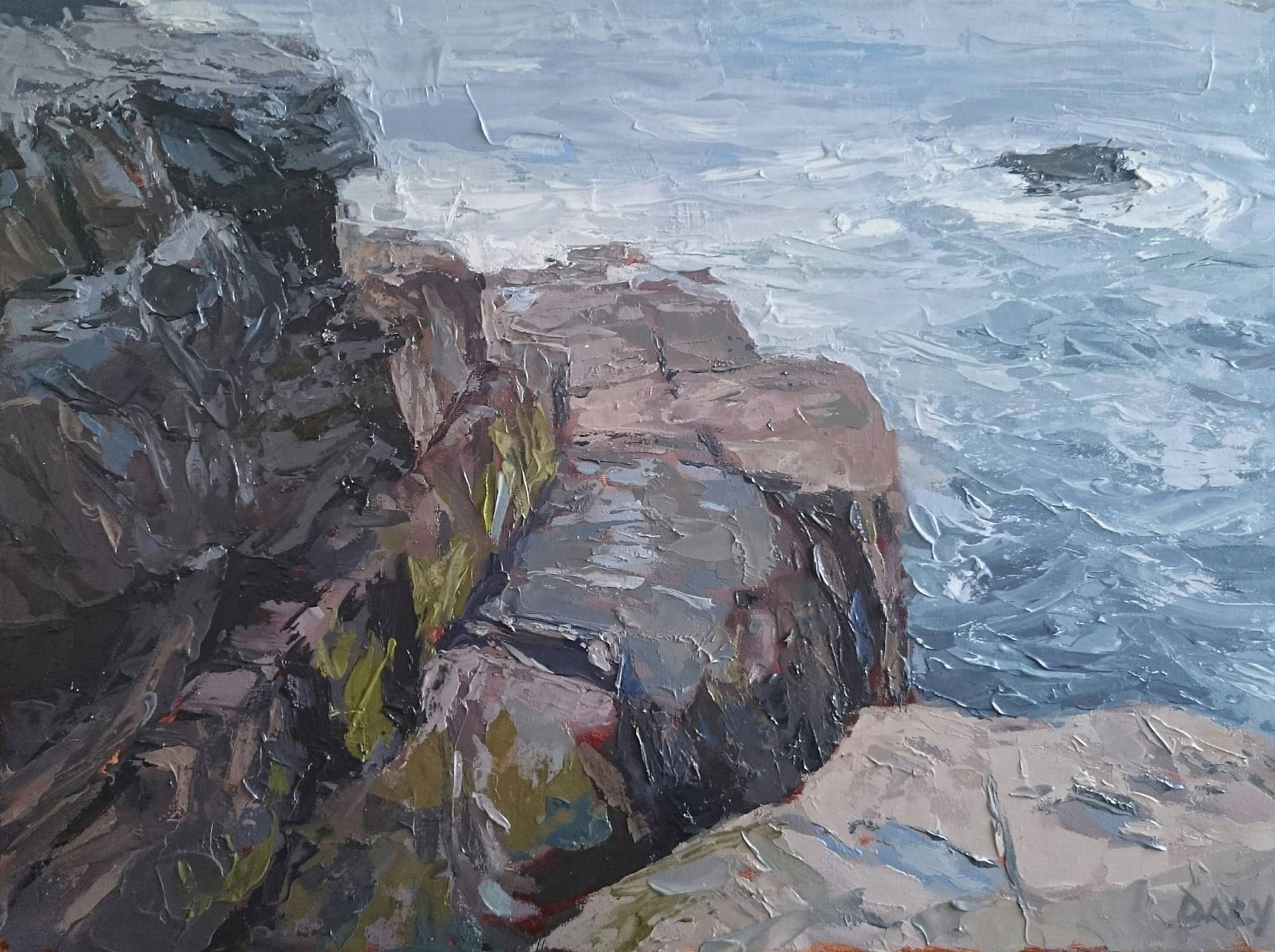 Shore detail - 30x40cm oil/canvas 2017