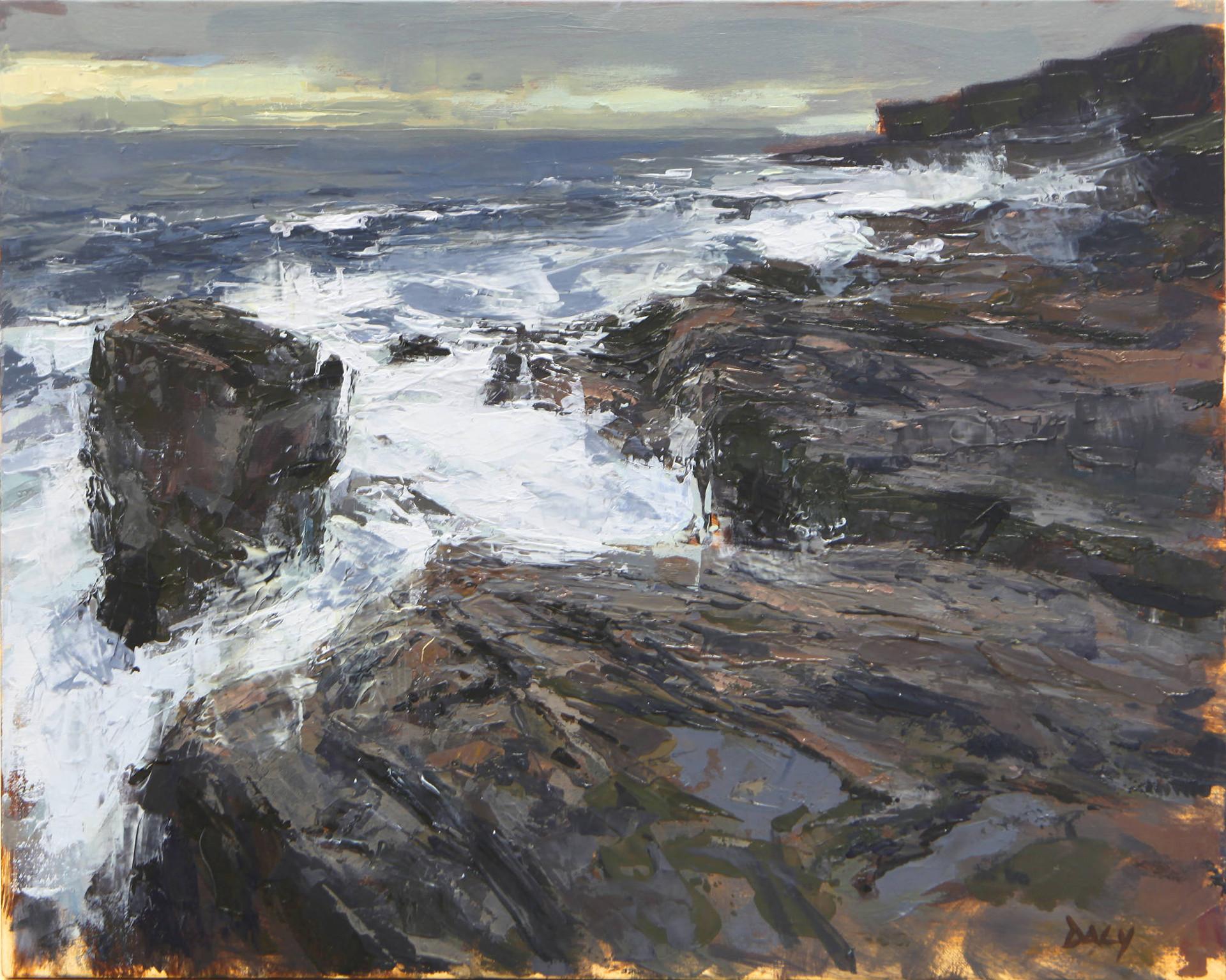Stack - oil/canvas 40x50cm 2018