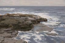 Tidal contours, detail. (Fintra Beg)