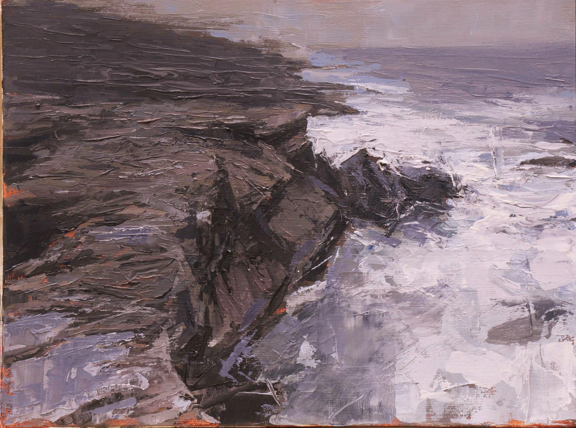 Overpass - oil/canvas 30x40cm