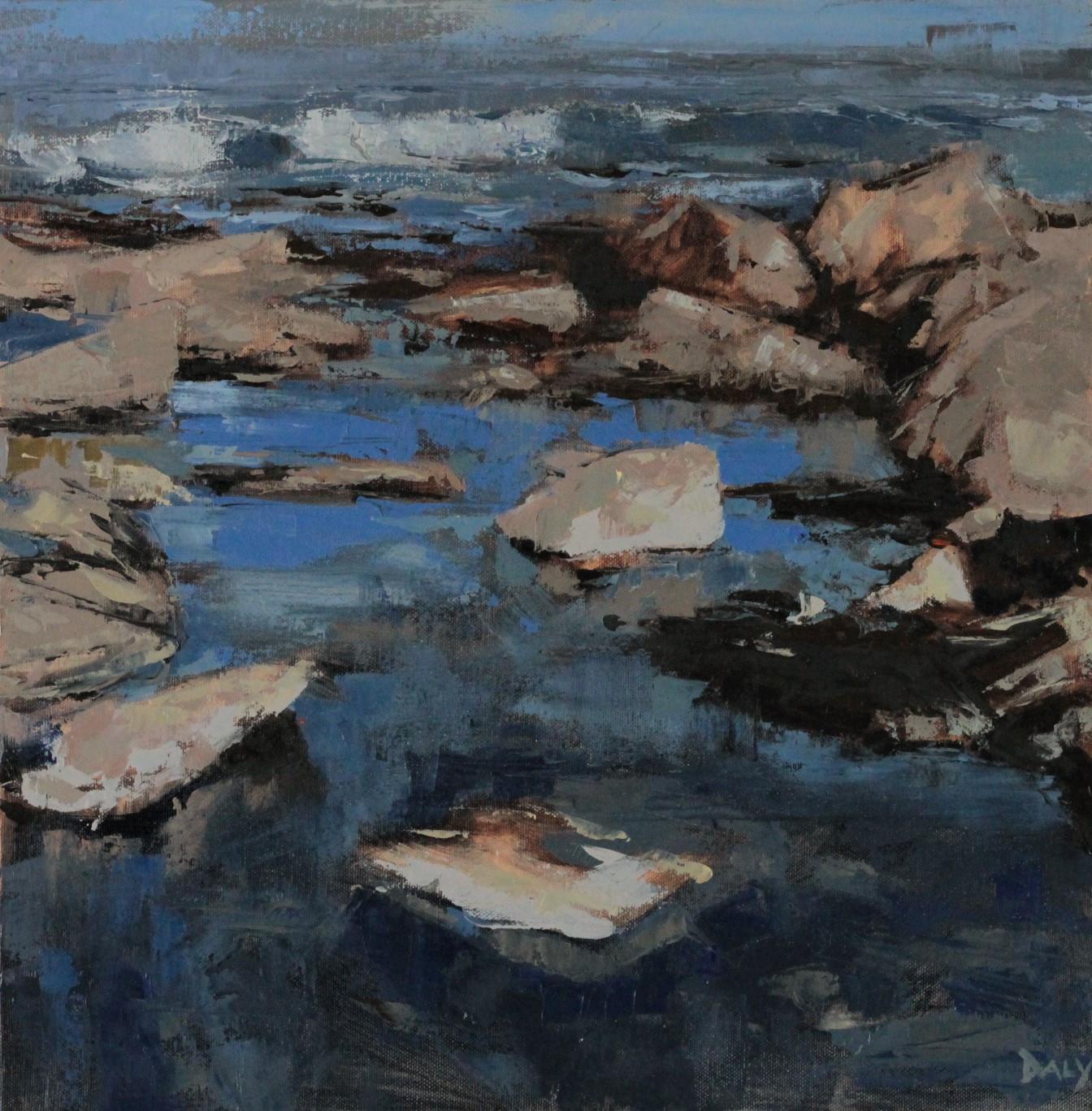 Pool - 40x40cm oil/canvas 2016 (PC)
