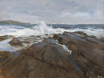 Advancing tide, South Clare