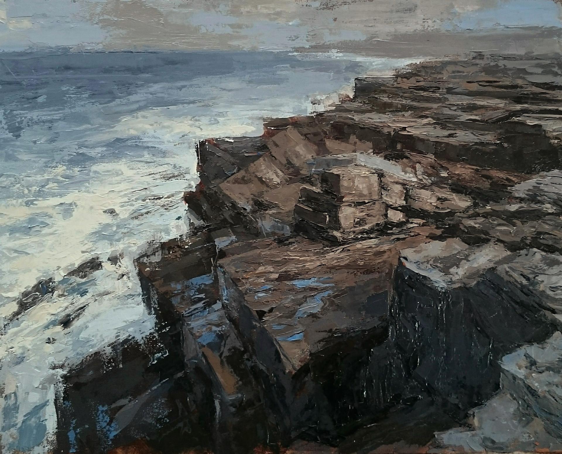Descending - 40x50cm oil/canvas 2018