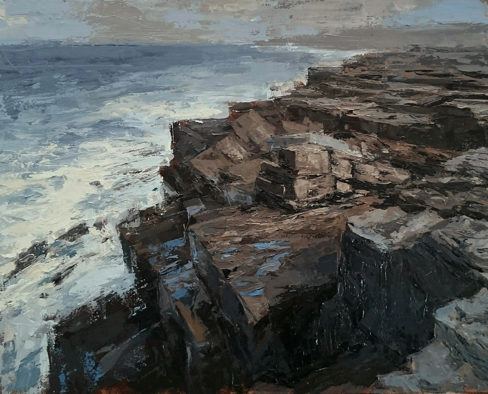 Descending - oil/canvas 30x40cm 2018