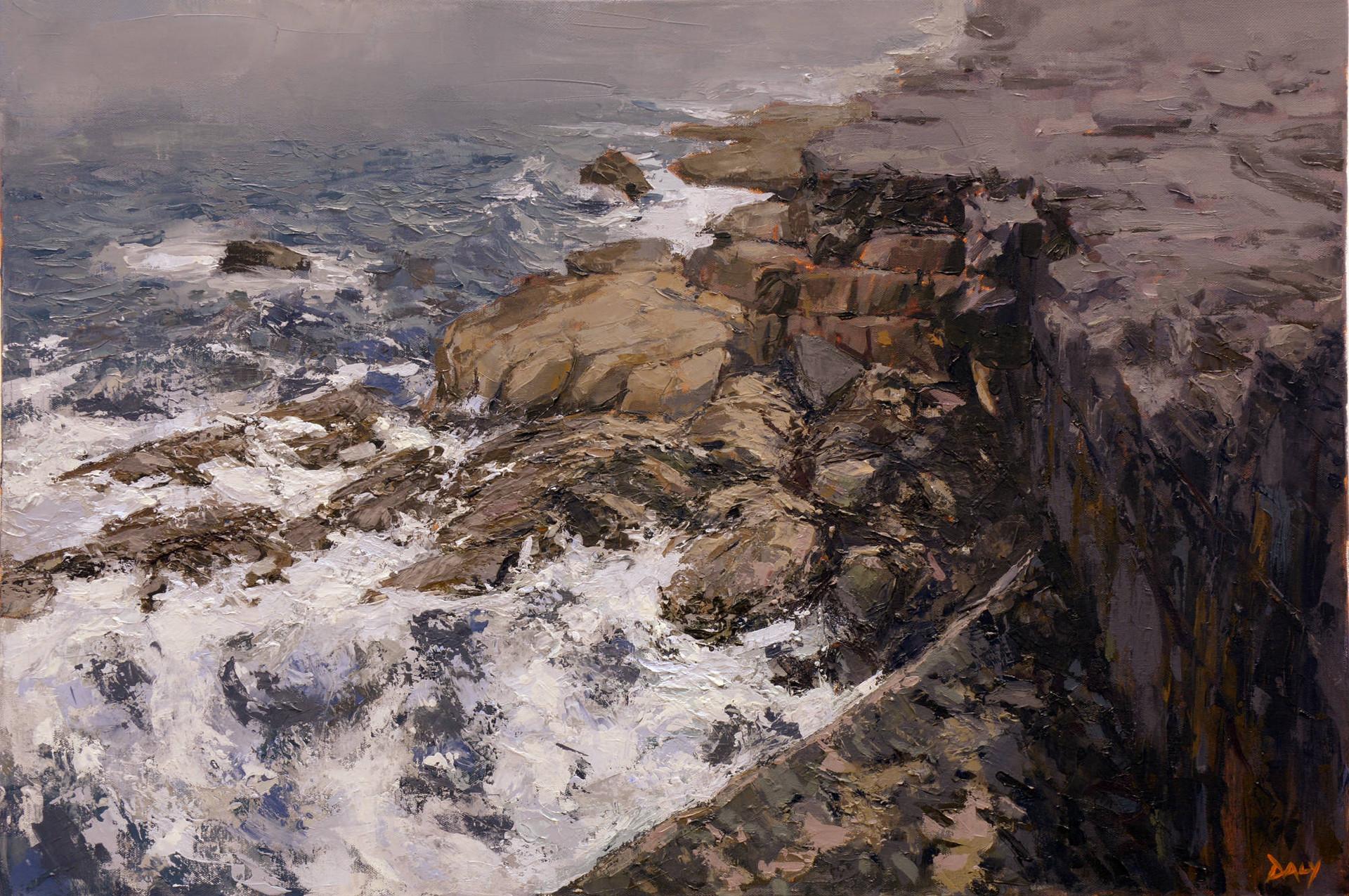 Gull Drift - oil/canvas 60x90cm 2018