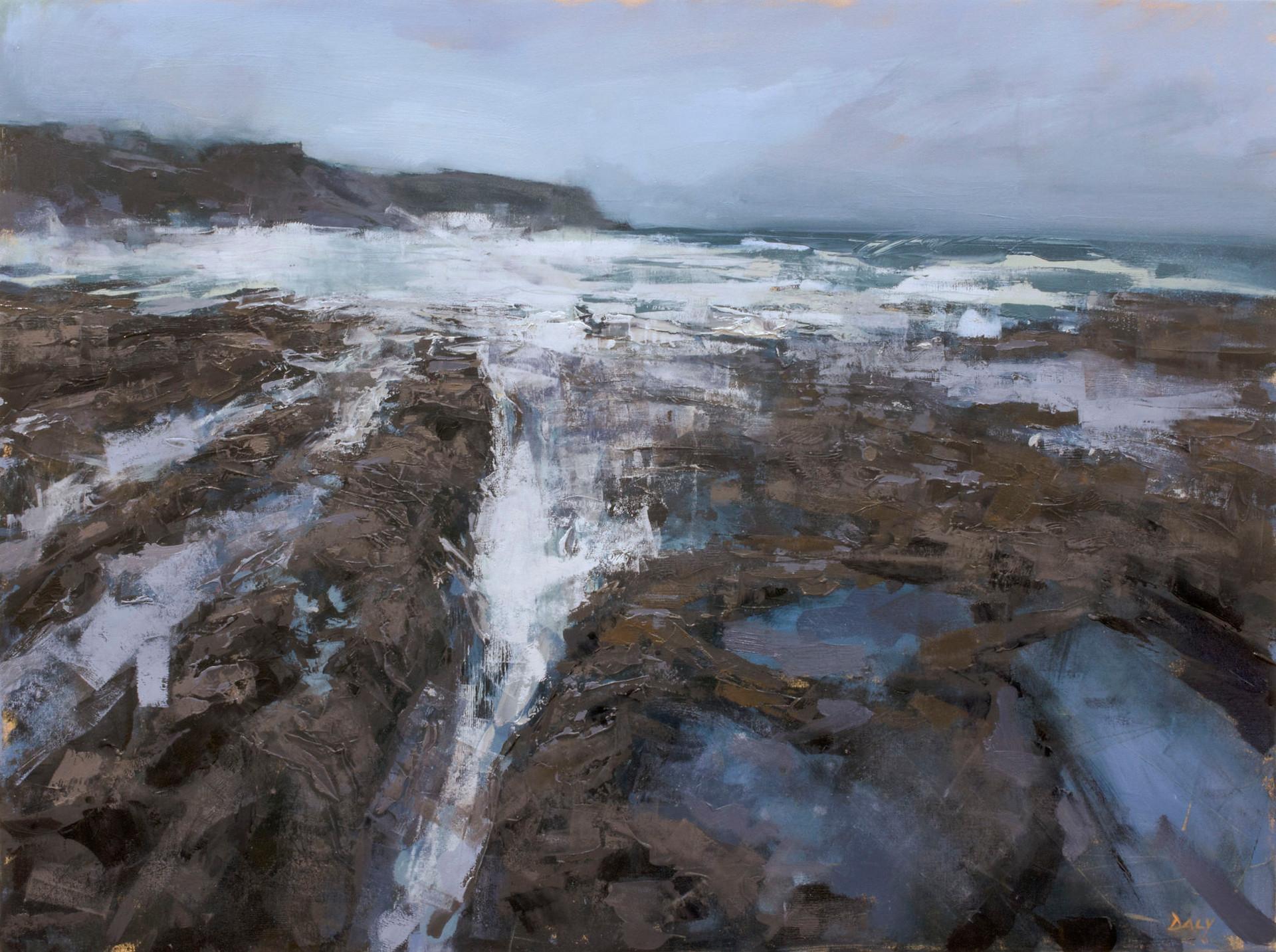 Reef shore - 60x80cm oil/canvas 2020