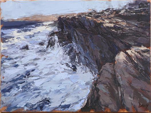 Ridge - oil/canvas 30x40cm 2018