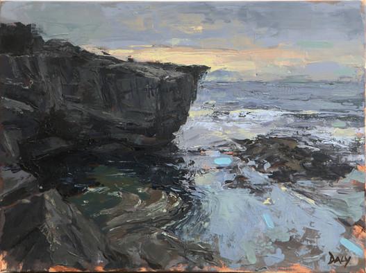 Closing light - oil/canvas 30x40cm 2018