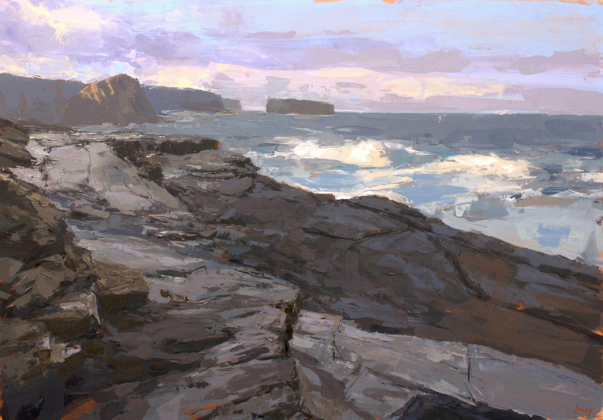 Light on the island - 70x100cm oil/canvas 2019