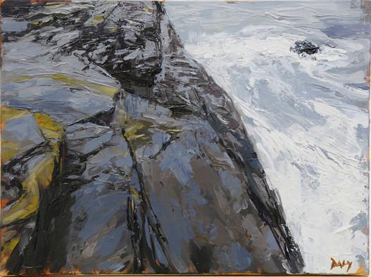 Shale - oil/canvas 30x40cm 2018