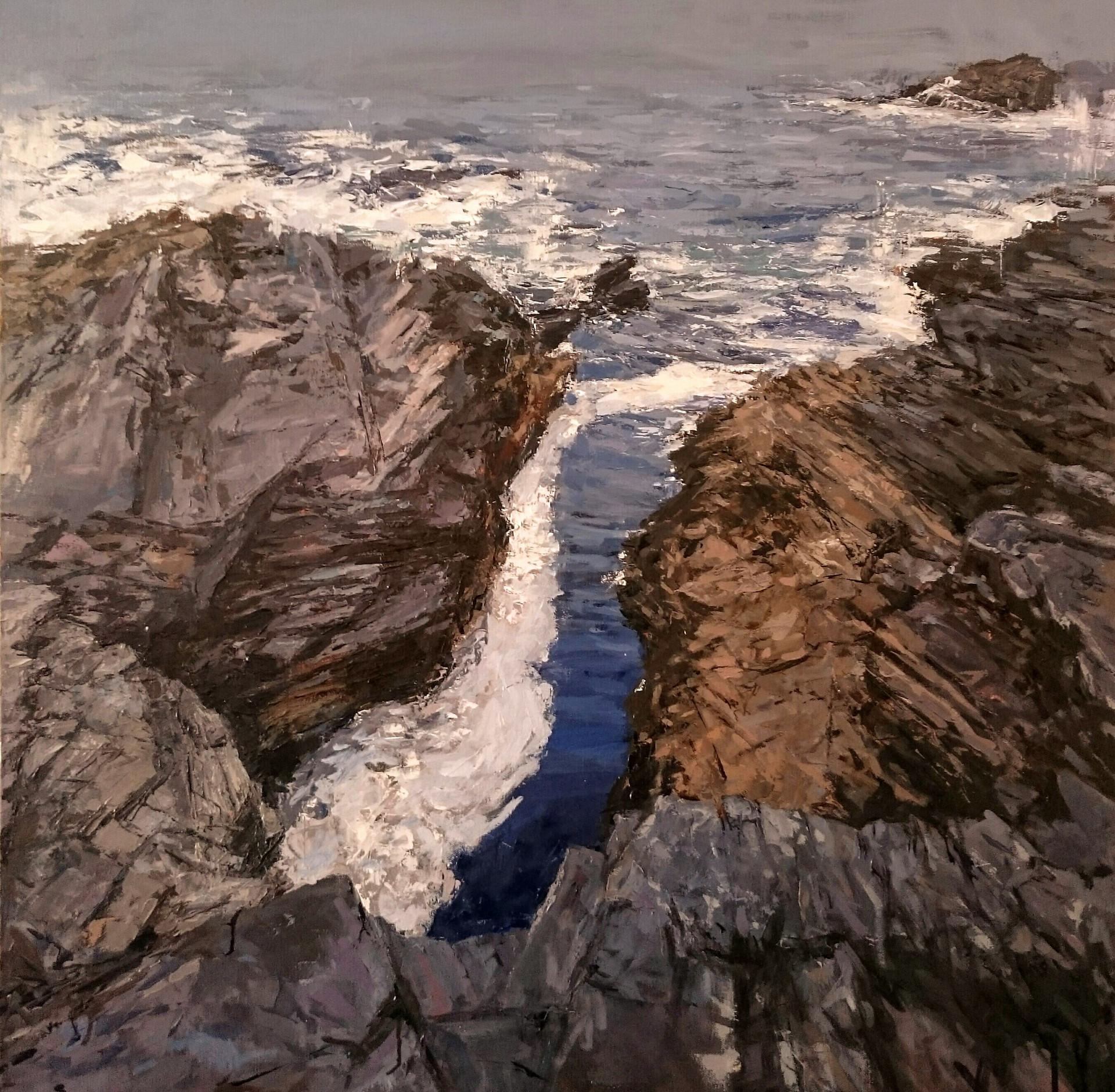 Inlet - oil/canvas 80x80cm 2017 (PC)