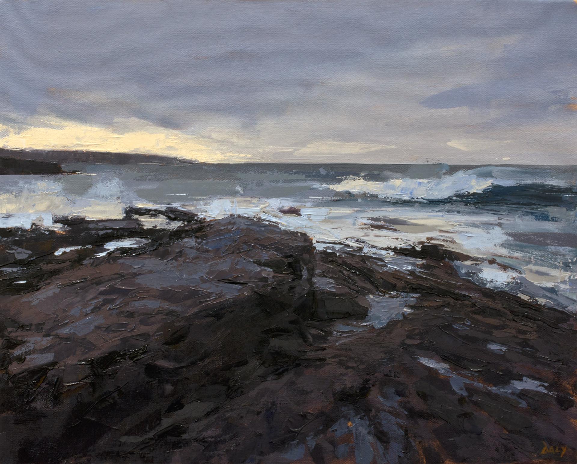 Evening light II - 40x50cm oil/canvas 2019 (PC)