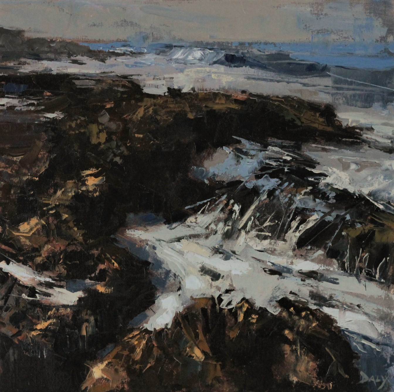 Impression - 40x40cm oil/canvas 2017 (PC)