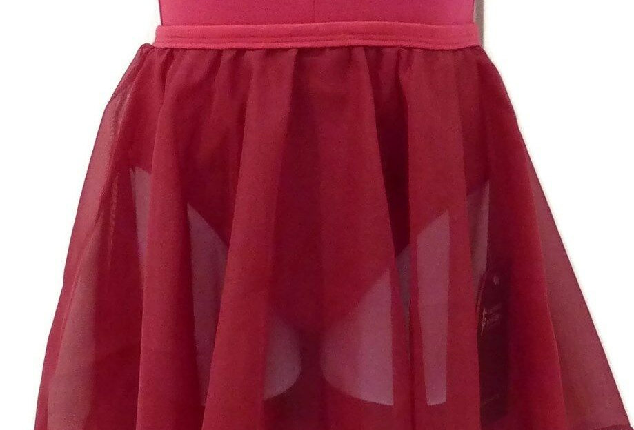 Tappers and Pointers ISTD Chiffon Circular Skirt   Style Code Chiffon