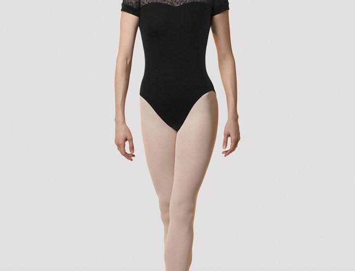 Bloch Mirella Adults  Low Back Short Sleeve Leotard Style Code M5070LM