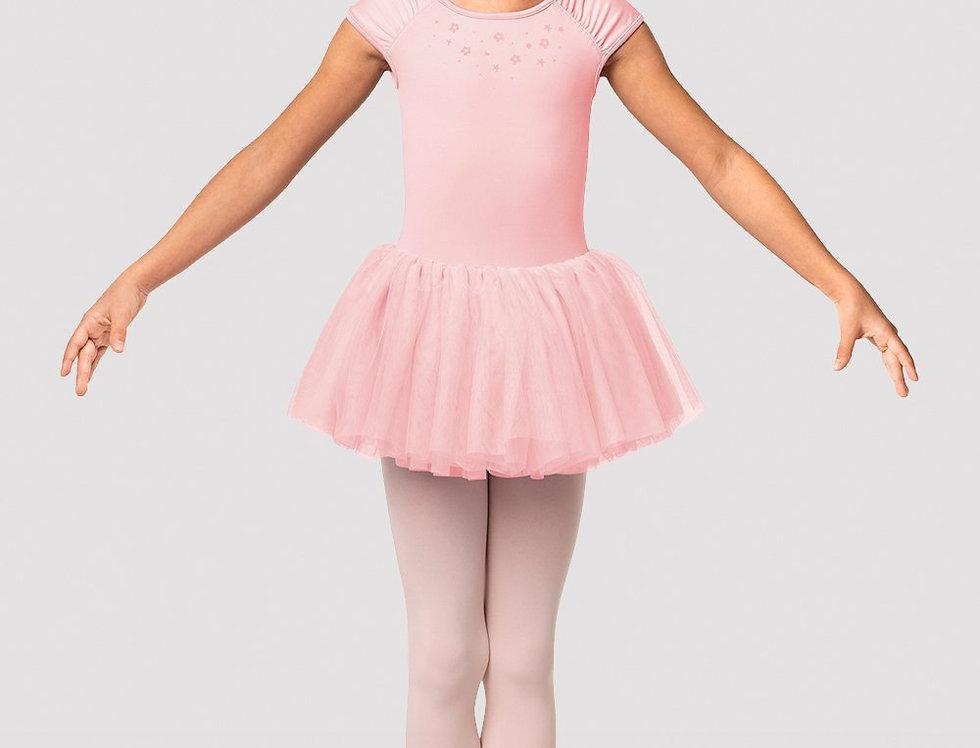 Mirella Girls Flower Burst Cap Sleeve Tutu Dress Style Code M1538C