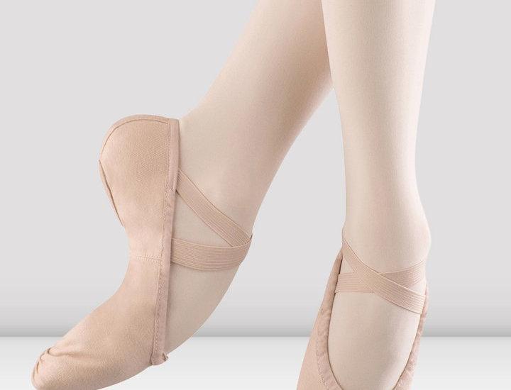 Bloch Pump Canvas Ballet Shoe Adults   Style Code S0277L