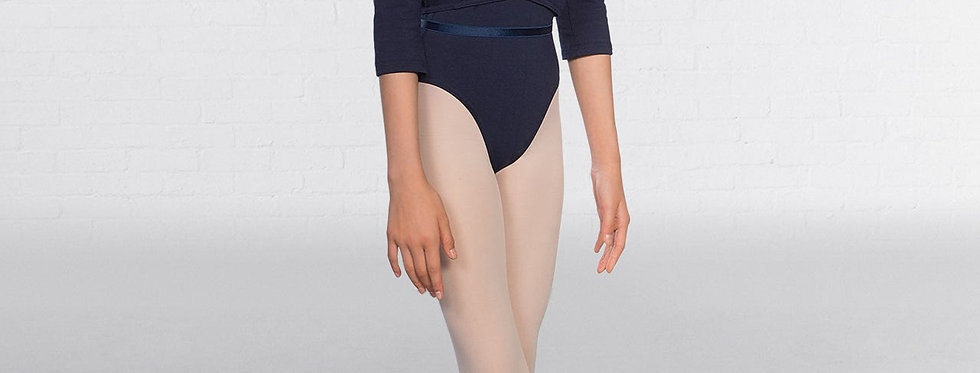 Tappers and Pointers Cotton Ballet Wrap  Style Code Cotton Ballet Wrap Navy Blue
