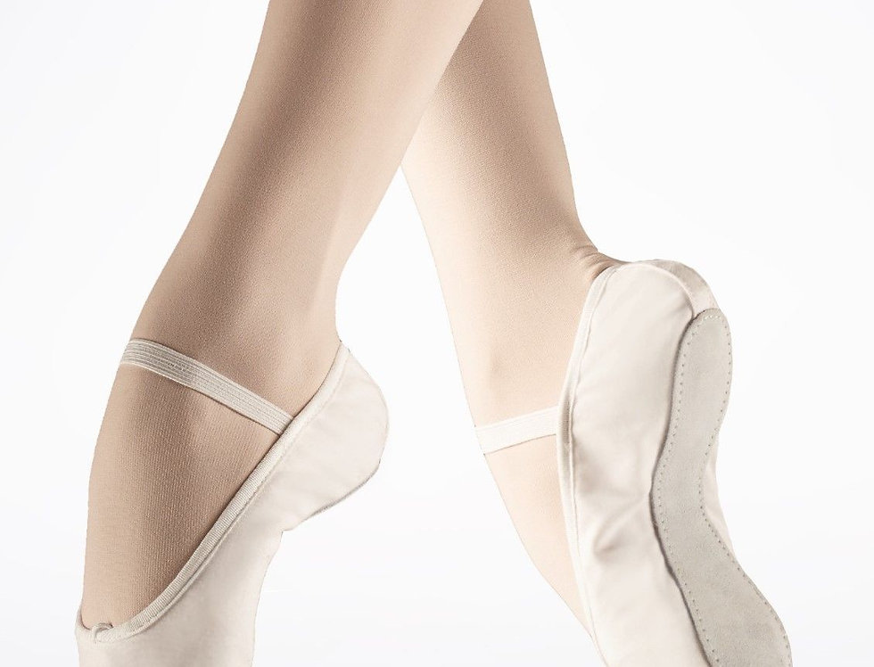 Tappers and Pointers Adults Full Sole Ballet Shoe Style Code CA-ELAS/WLSS