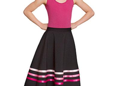 Little Ballerina Character Skirts Pink Ribbons Style Code SKPNK
